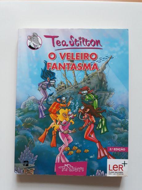 """Livro """"Tea Sisters: O Veleiro Fantasma (Nº13)"""" NOVO PREÇO"""