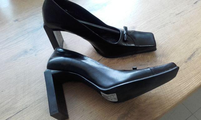 Nowe buty skórzane 38 moż wysyłki