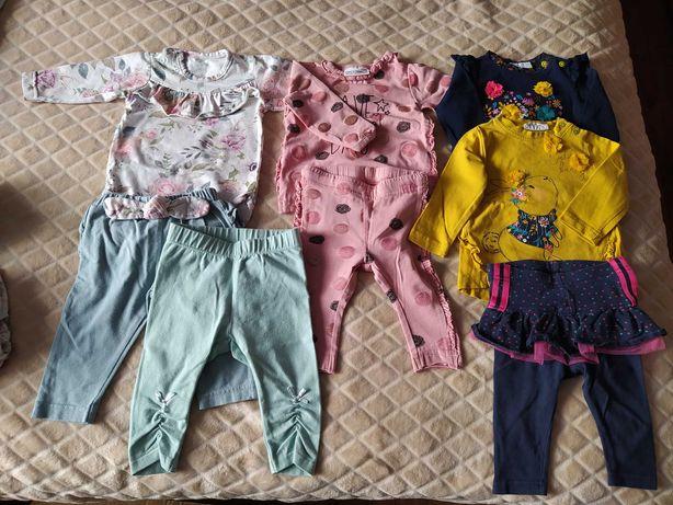 Ubranka dla dziewczynki od r 56-68