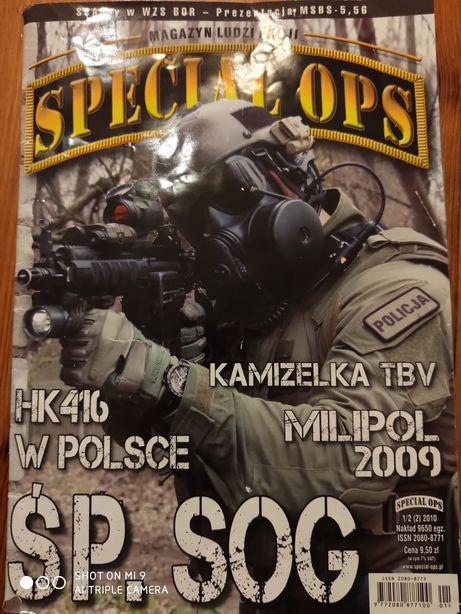 "Magazyn ludzi akcji ""Spacial OPS"" z 2010"