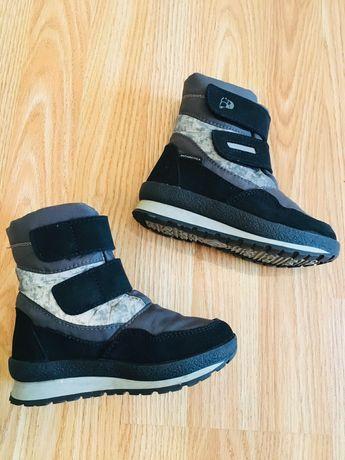 Якісне зимове взуття на хлопчика розмір 27-28