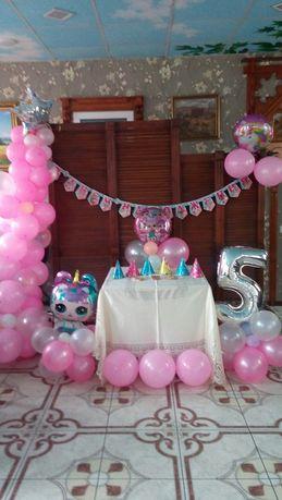 Фотозона на день рождения/гирлянда из шариков