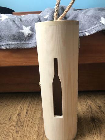 Drewniane opowakowanie na alkohol
