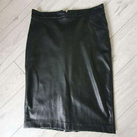 Skórzana spódnica Zara XL
