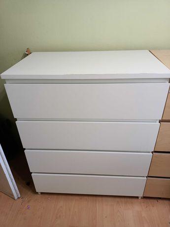 Komoda IKEA biała 4 szuflady