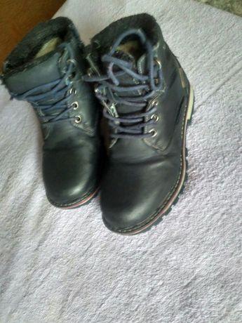 Ботинки зимние на мальчика сапоги р 32  21см