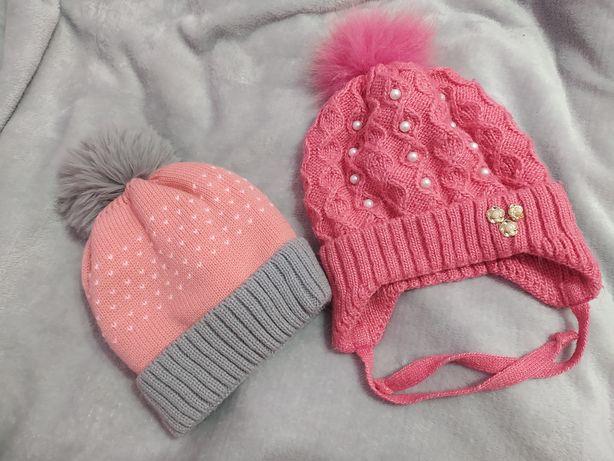 Шапки зимові на дівчинку 3-5 років