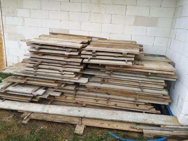 Deski szalunkowe 3,2 cm po jednej budowie