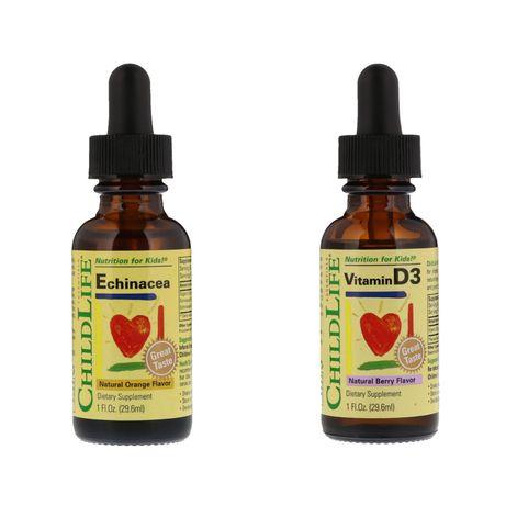 Витамин Д3 D3 эхинацея для деток В НАЛИЧИИ iherb