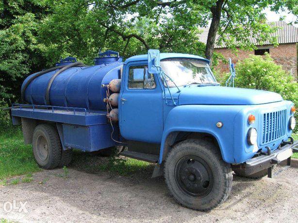 Доставка води для басейнів,буріння свердловин та будівництва