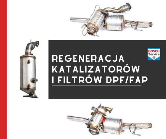 Filtr Cząstek DPF Audi A4 B8 2.7 / Regeneracja DPF Audi / Wymiana DPF