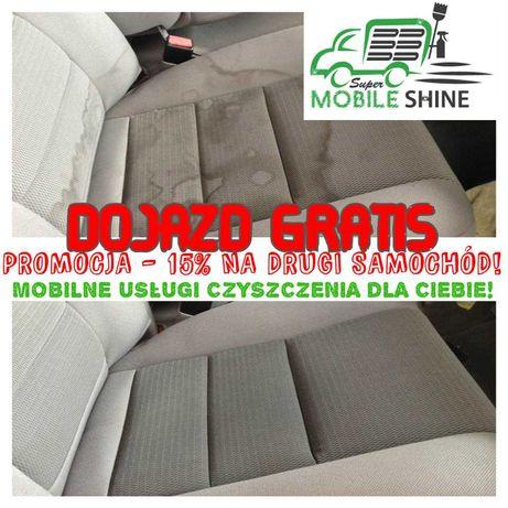 Czyszczenie pojazdów, pranie tapicerki samochodowej i meblowej/ DOJAZD