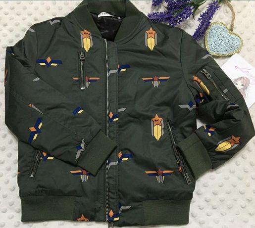 Куртка . Бомбер 110 розмер