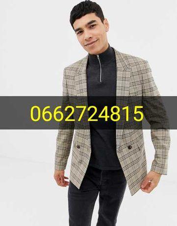 Мужской пиджак недорого новый модный бренд