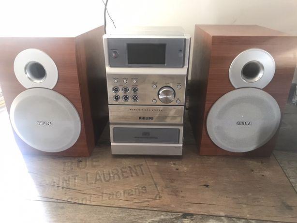 Radio z głośnikami marki Philips