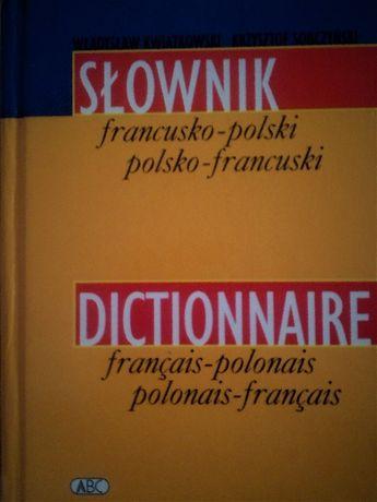 słownik francusko-polski 24 tys haseł