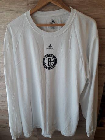 Баскетбольная тренировочная кофта Adidas Brooklyn Nets NBA оригинал