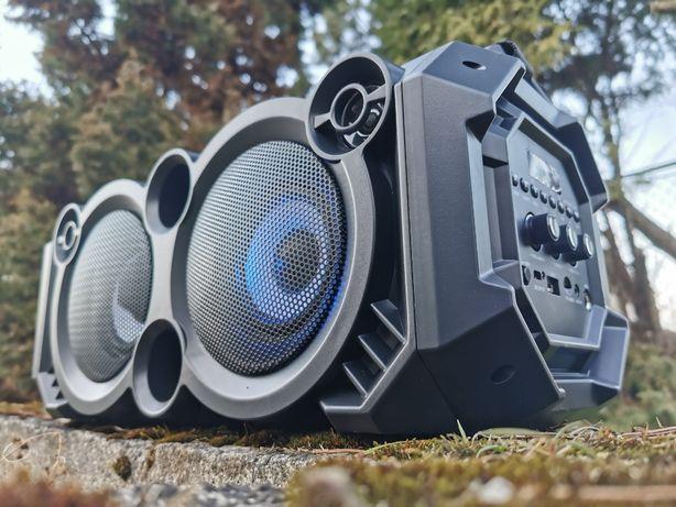 Boombox Subwoofer Kolumna Nagłośnieniowa Głośnik BLUETOOTH Radio Wieża