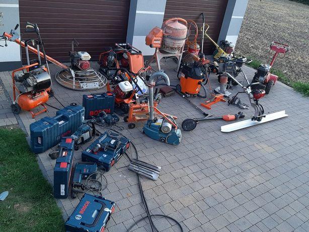 Wynajem sprzętu budowlanego elektronarzędzi i sprzętu ogrodniczego