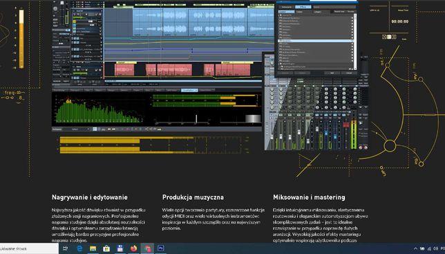 Samplitude Pro X 4 Suite licencja/klucz DAW zamiana