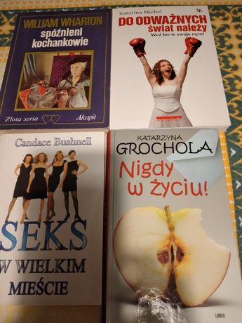 książki różne do czytania