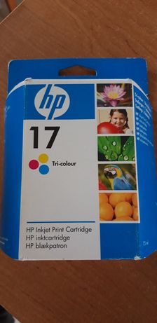 Hp 17 tusz tri-colour