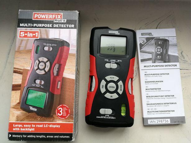 Multidetektor 5w1 POWERFIX HG02404 stan bardzo nowa bateria
