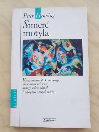 """Sprzedam książkę """"Śmierć motyla"""" Peter Henning"""