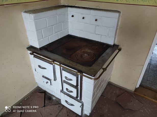 Piec kaflowy kuchnia*kuchenny