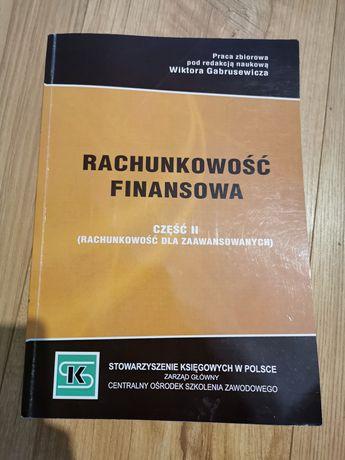 W. Gabrusewicz Rachunkowość finansowa cześć II dla zaawansowanych