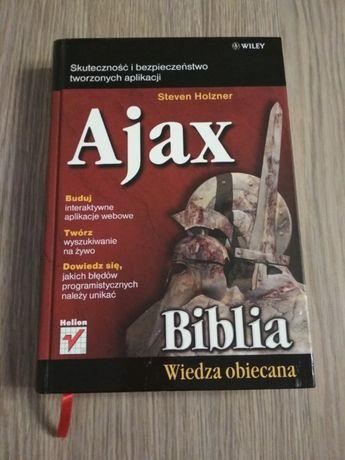 Ajax Biblia, Steven Holzner wydawnictwo Helion