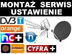 ANTENA TV kierun OLYMPIA BX1000 COMBO MUX8 montaz ustawianiwianie ante