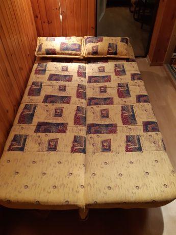 Kanapa, sofa, wersalka z funkcją spania i pojemnikiem na posciel