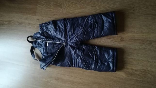 Spodnie zimowe, narciarskie, ocieplane 86