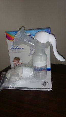 Laktator ręczny komplet Canpol Babies użyty raz