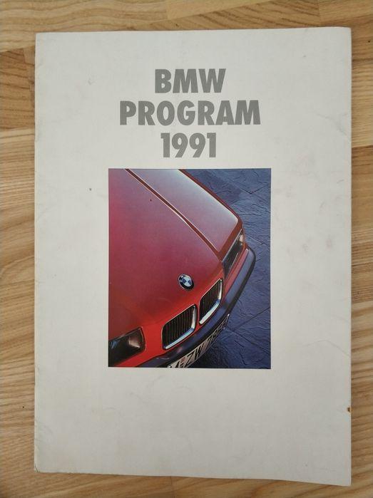 Katalog prospekt BMW polski 1991 Biernatowo - image 1