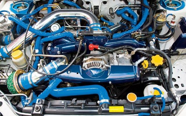 Патрубок Трубка Шланг Subaru Impreza Legacy Outback Forester Tribeca