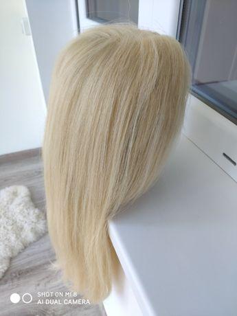 Перука з натурального волосся, зіркова , zirkova , блонда №613,