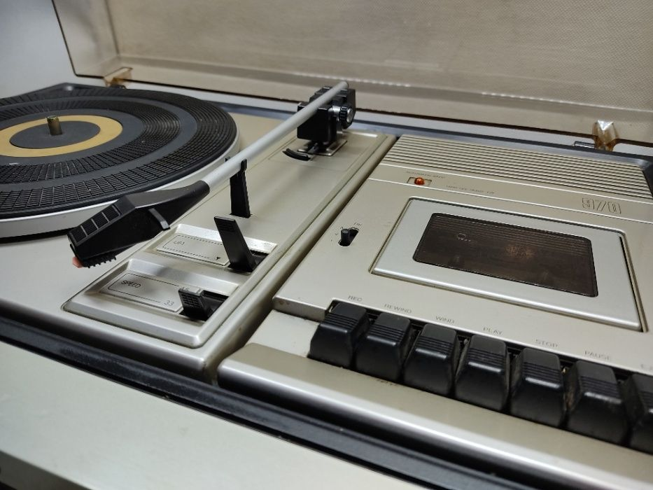 Gramofon Philips + kolumny - Lombard Krosno Betleja