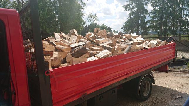 Drewno kominkowe-opalowe bukowe gotowe ciete rabane