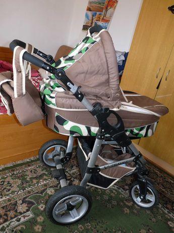 Wózek dziecięcy V-travel 3w1, fotelik, gondola spacerówka.