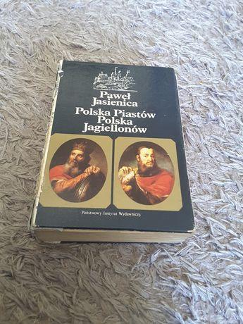 Książka - Polska Piastów Polska Jagiellonów