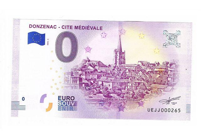0 Euro - Donzenac Cite Medievale 2018-3 Niski numer 265