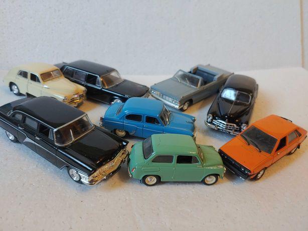 Deagostini Масштабные модели автомобилей СССР 1/43 1:43 Deagostini