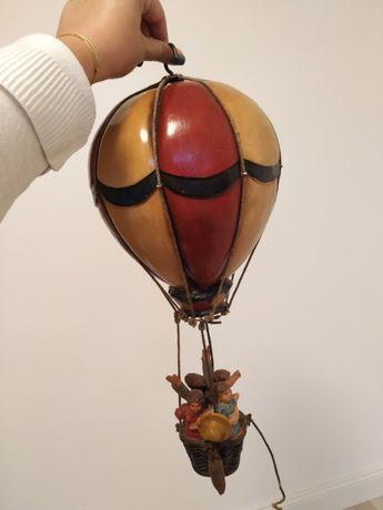 latający balon - dekoracja antyk