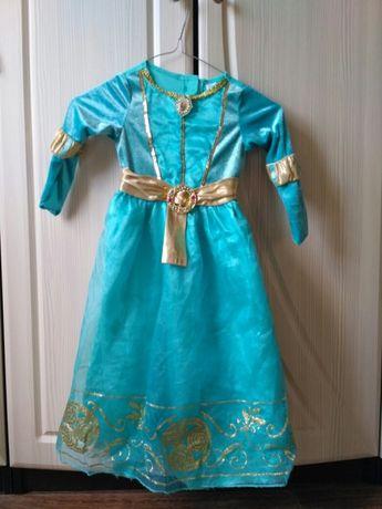 Платье Мерида храбрая сердцем Disney Princess Merida's