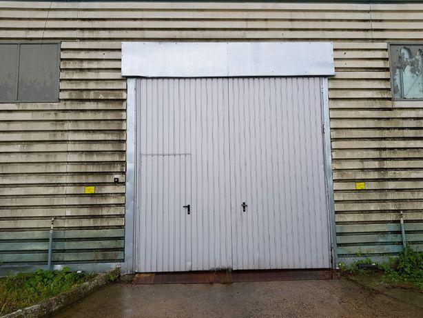 Brama dwuskrzydłowa wiśniowski 350x350 + drzwi posiadam 3 szt.