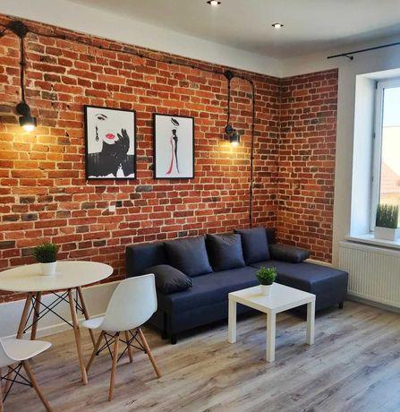 Do wynajęcia mieszkanie LOFT 2 pokoje 34 m2 brak czynszu CENTRUM