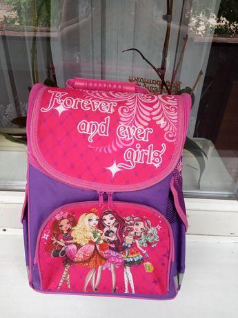 Рюкзак ортопедичний для дівчинки для девочки 1-3 клас