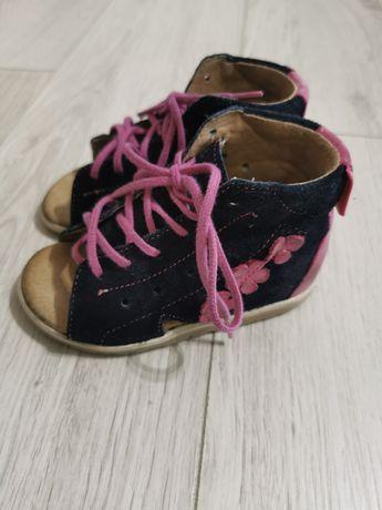 Pierwsze buciki- skórzane